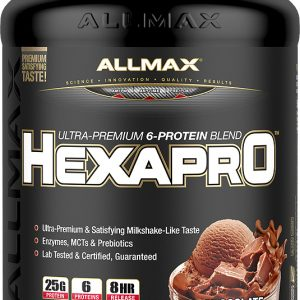 ALLMAX NUTRITION Hexapro 5 Lbs. - 52 Servings - Cookies & Cream