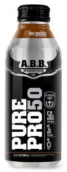 ABB Pure Pro 50 Protein Shake - 12 Bottles, Chocolate Peanut Butter