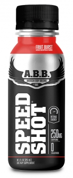 ABB Speed Shot Drink - 12 Bottles, Cherry Lime
