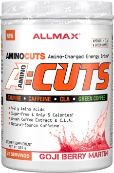 ALLMAX NUTRITION Amino:Cuts - 30 Servings - Blue Raspberry