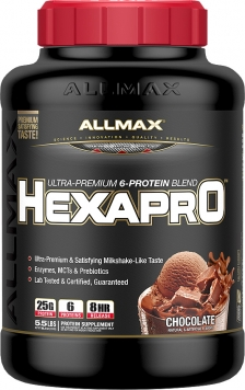 ALLMAX NUTRITION Hexapro 5 Lbs. - 52 Servings - Chocolate Peanut Butter