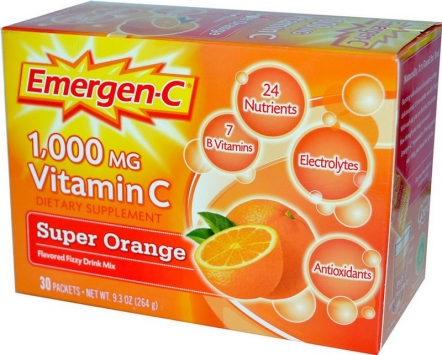 Alacer Emergen-C - 1000mg/30 Packets, Tropical