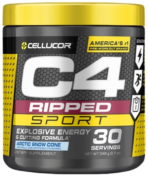 Cellucor C4 Ripped Sport - 30 Servings - Arctic Snow Cone