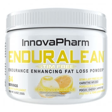 InnovaPharm Enduralean Stim Free - 84 Servings - Fuji Apple