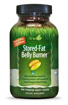 Irwin Naturals Stored-Fat Belly Burner - 60 Liquid Softgels