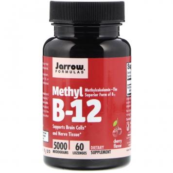 Jarrow Formulas Methyl B-12 - 5000 mcg/60 Lozenges