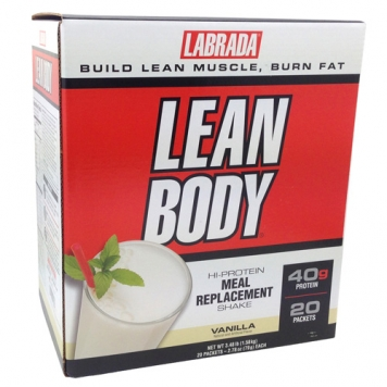Labrada Lean Body - 20 Packets - Chocolate