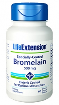 Life Extension Bromelain - 500 mg (60 Enteric-Coated Tablets)