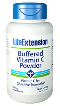 Life Extension Buffered Vitamin C Powder, 16 oz
