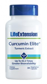 Life Extension Curcumin Elite™ Turmeric Extract (30 Capsules, Vegetarian)