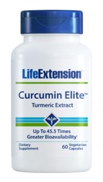 Life Extension Curcumin Elite™ Turmeric Extract (60 Capsules, Vegetarian)