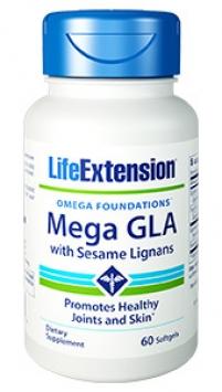 Life Extension Mega GLA with Sesame Lignans (60 Softgels)