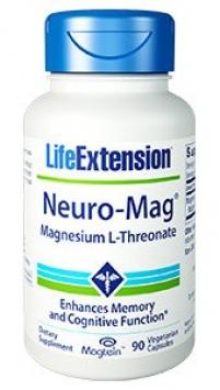 Life Extension Neuro-Mag® Magnesium L-Threonate (90 Capsules, Vegetarian)
