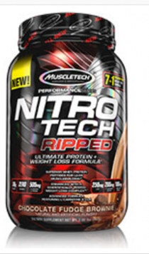 MuscleTech Nitro Tech Ripped - 2 Lbs. - Vanilla
