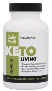 Nature's Plus Keto Living Daily Multi - 90 Capsules