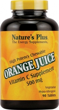 Nature's Plus Orange Juice - 500mg/90 Chews