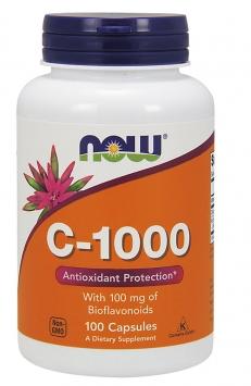 Now C-1000 w/Bioflavonoids - 100 Capsules