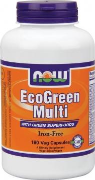 Now EcoGreen Multi-Iron Free - 180 V-Capsules