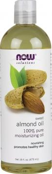 Now Sweet Almond Oil - 16 Oz.