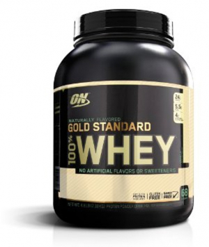 Optimum Nutrition 100% NATURAL Whey - 5 Lbs., Strawberry