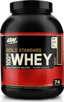 Optimum Nutrition Gold Standard 100% Whey Protein - 2 Lbs. - Cake Donut