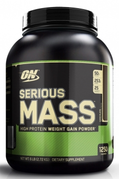 Optimum Nutrition Serious Mass - 6 Lbs. - Chocolate