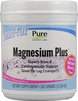 Pure Essence Labs Ionic-Fizz Magnesium Plus - 60 Servings, Raspberry Lemonade