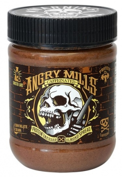 Sinister Labs Protein Infused Spread - 12 Oz. - Chocolate Caffeinated Almond Spread