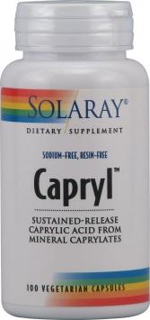Solaray Capryl - 100 Capsules