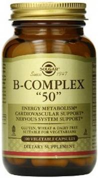Solgar B-Complex 50 - 100 V-Capsules