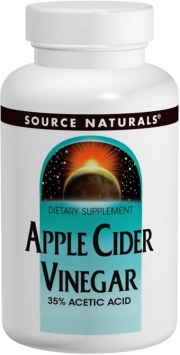 Source Naturals Apple Cider Vinegar - 500mg/180 Tablets