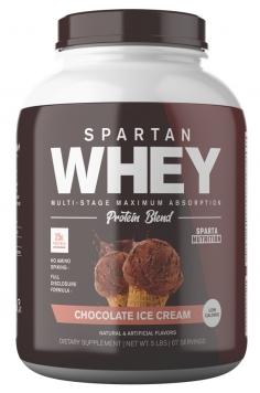 Sparta Nutrition Spartan Whey - 2 Lbs. - Krunchy Krisp