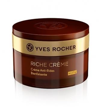 Yves Rocher Crème anti-rides bienfaisante nuit